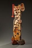 """Cedar, madrone, walnut, ebony, Japan color 74 x 32 x 33"""""""